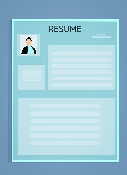 Resume Cv Template - Free image on Pixabay