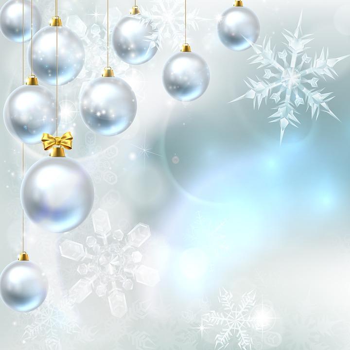 Christmas Background Ornaments - Free image on Pixabay