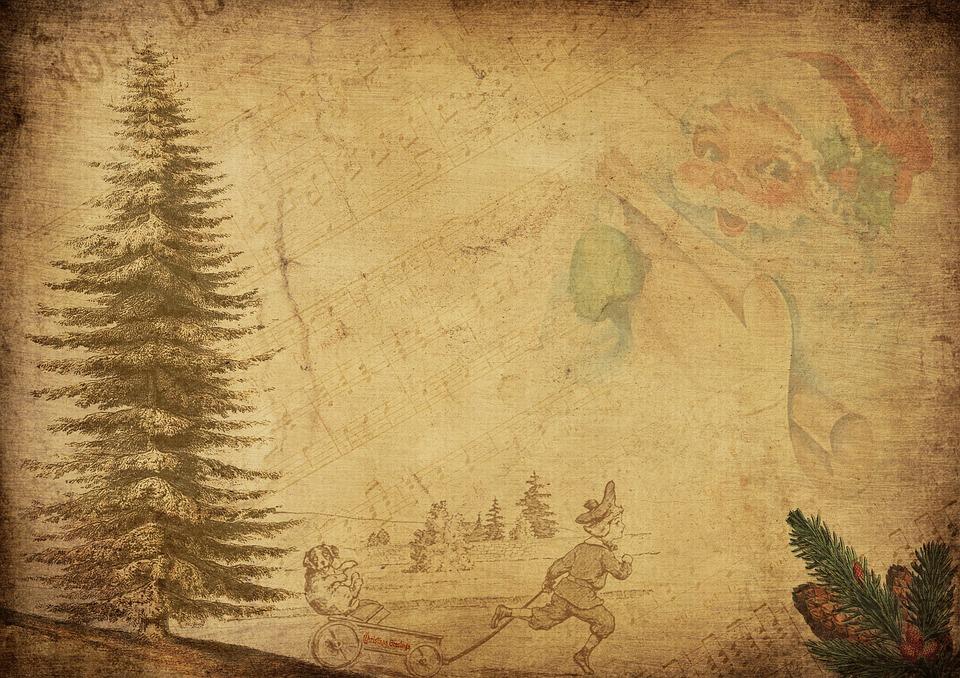 Vintage Santa Claus Children - Free image on Pixabay