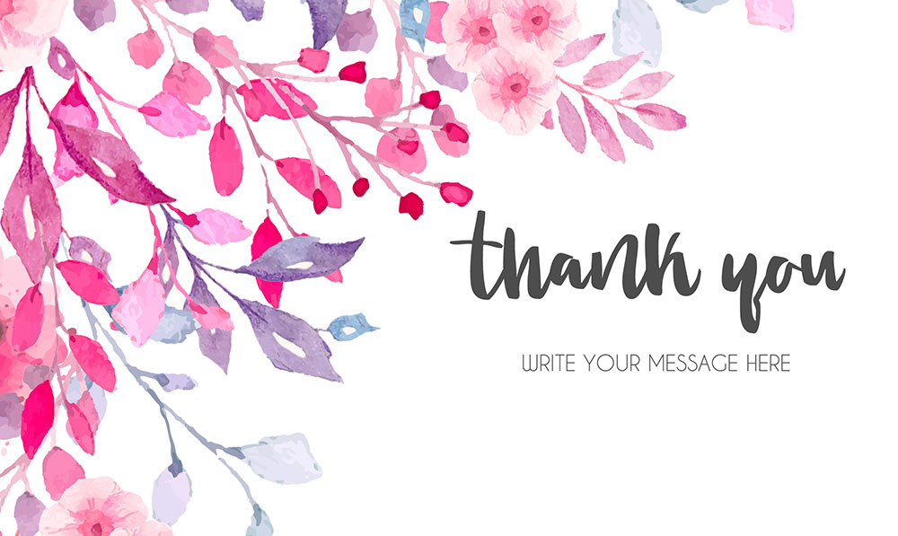 Thank You Card Maker Design Thank You Cards