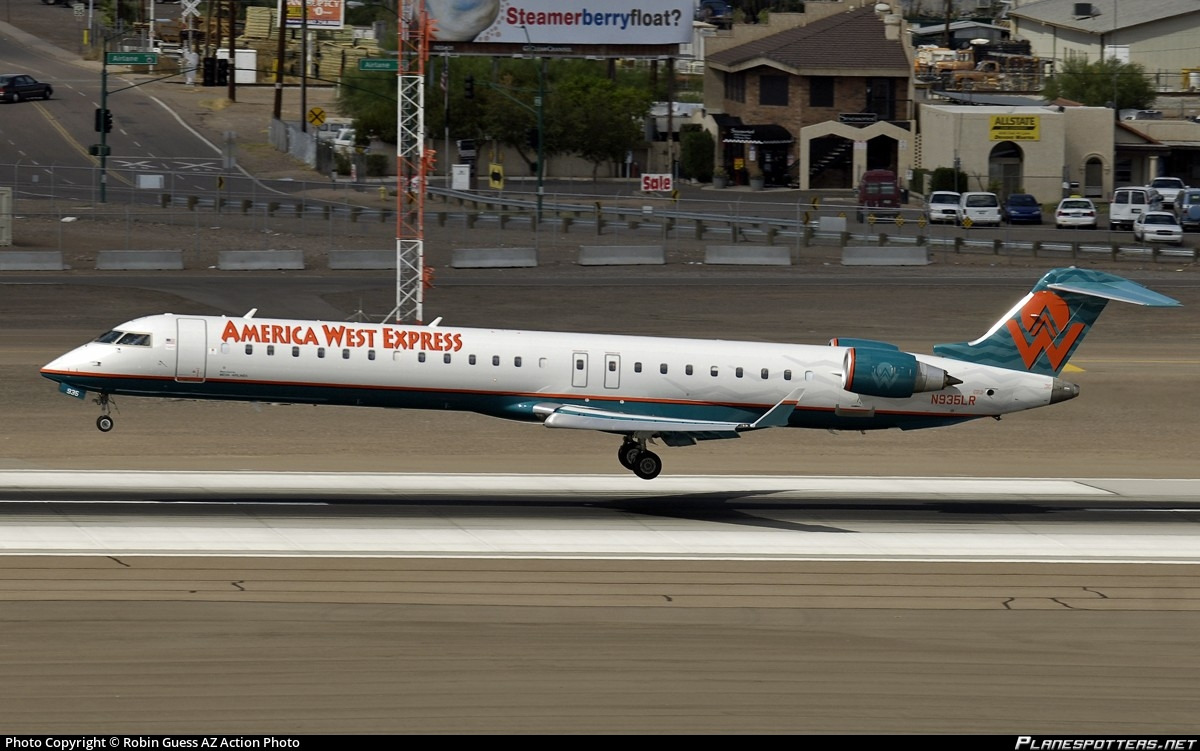 Mesa Airlines N935lr Mesa Airlines Bombardier Crj 900er Cl 600 2d24 Photo By