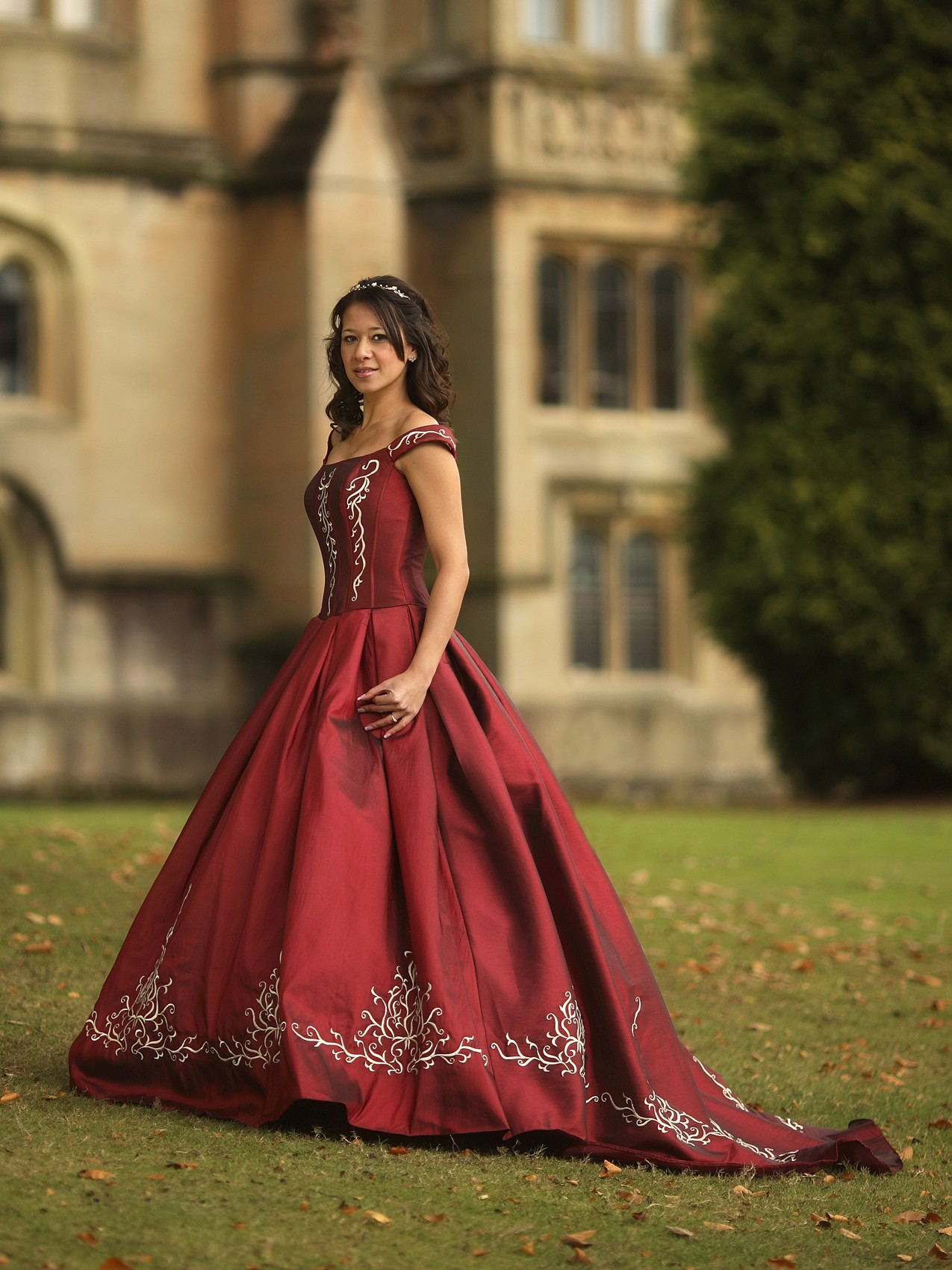 the ultimate quiz what is your perfect wedding dress red wedding dress