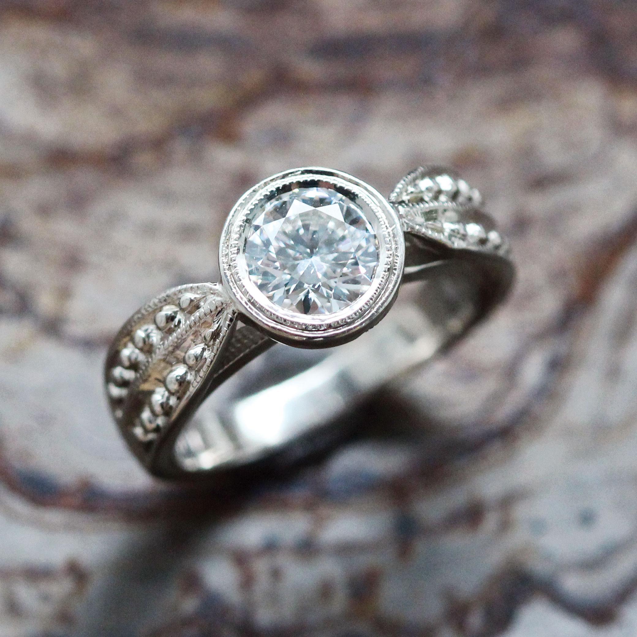 what will your wedding dress look like labradorite wedding ring