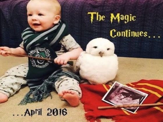 make your own baby announcement
