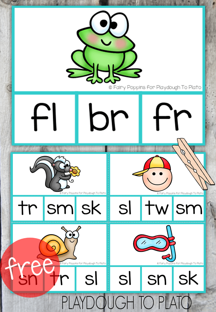 consonant blends bl br