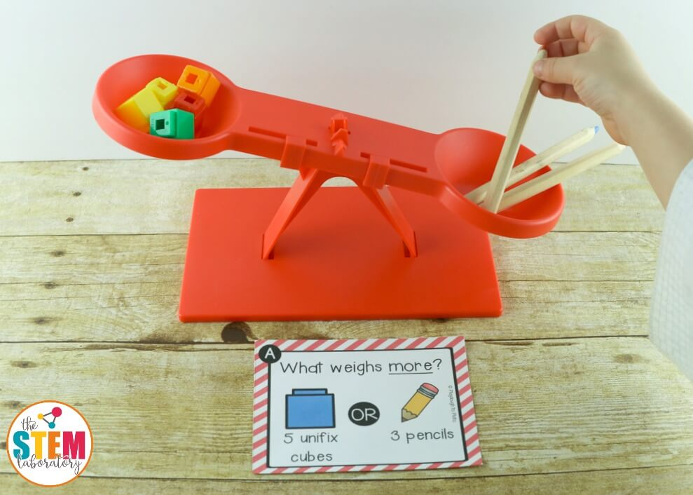 STEM Challenge Weight Measurement - Playdough To Plato