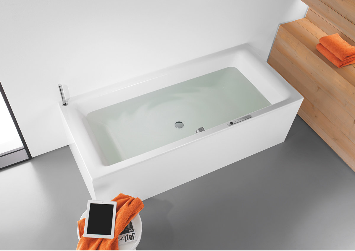 Kaldewei Duschtasse Relax In The Bath While Audio Bubbles Around You With The Sound