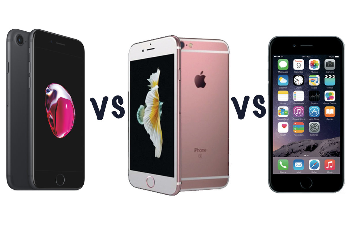 Iphone 6 Ne Kadar Apple Iphone 7 Vs Iphone 6s Vs Iphone 6 What S The Difference