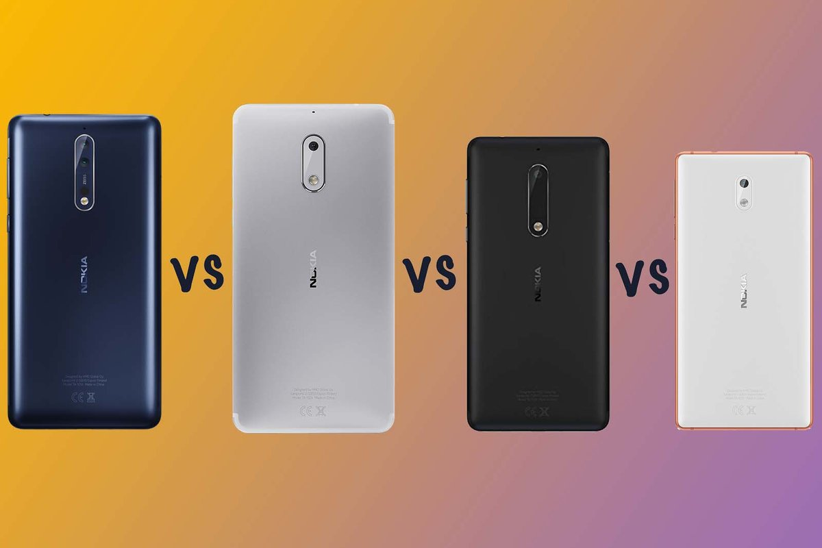 Nokia 6 Arte Black Video Nokia 8 Vs Nokia 6 Vs Nokia 5 Vs Nokia 3 What S The Difference