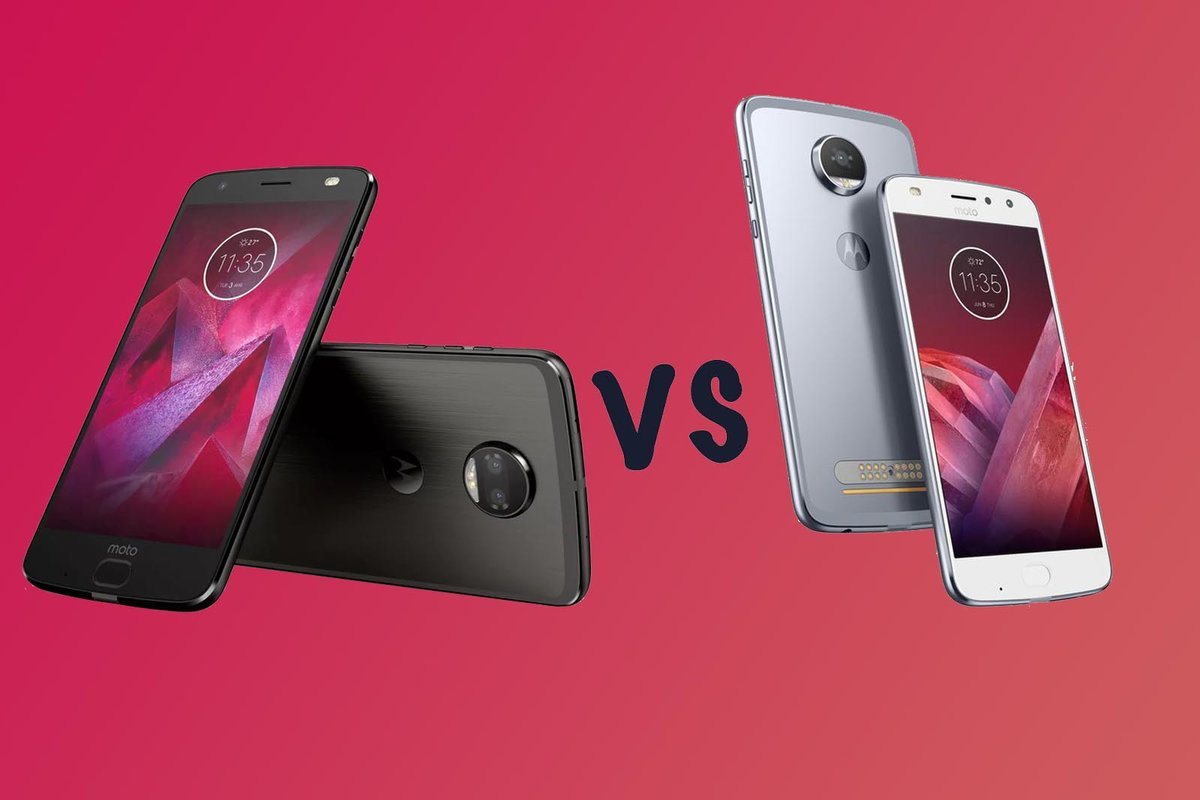 Camera Exterieur Motorola Moto Z2 Force Vs Moto Z2 Play What S The Difference Pocket