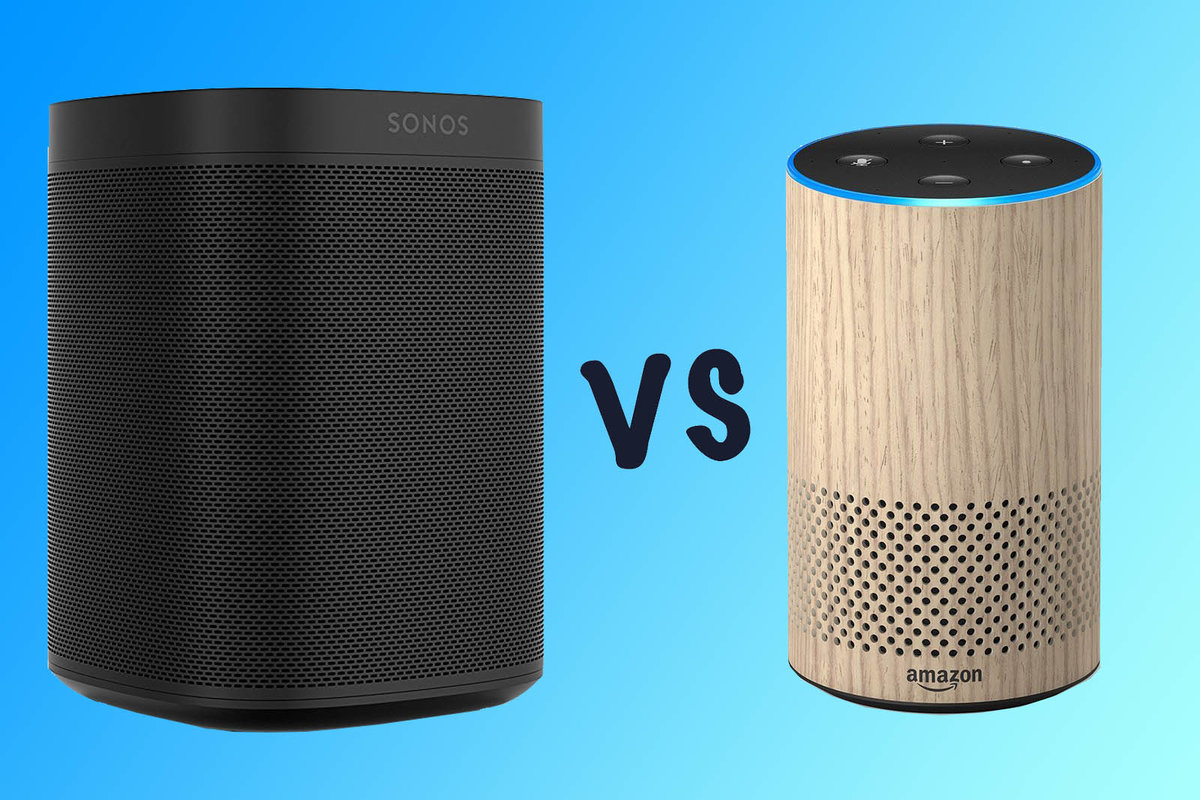 Audio Echo Sonos One Vs Amazon Echo What S The Difference