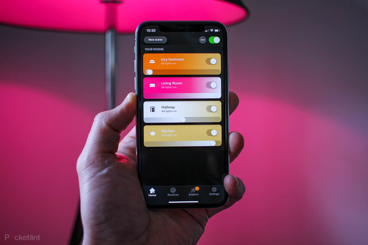 Hue Philips App Philips Hue App Gets Major Overhaul Controlling Your Lights Be