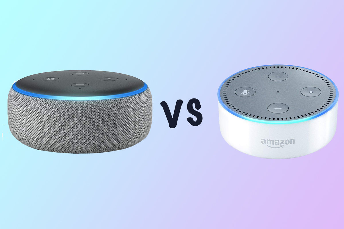 Echo Dot Installation New Amazon Echo Dot Vs Old Echo Dot What S The Difference