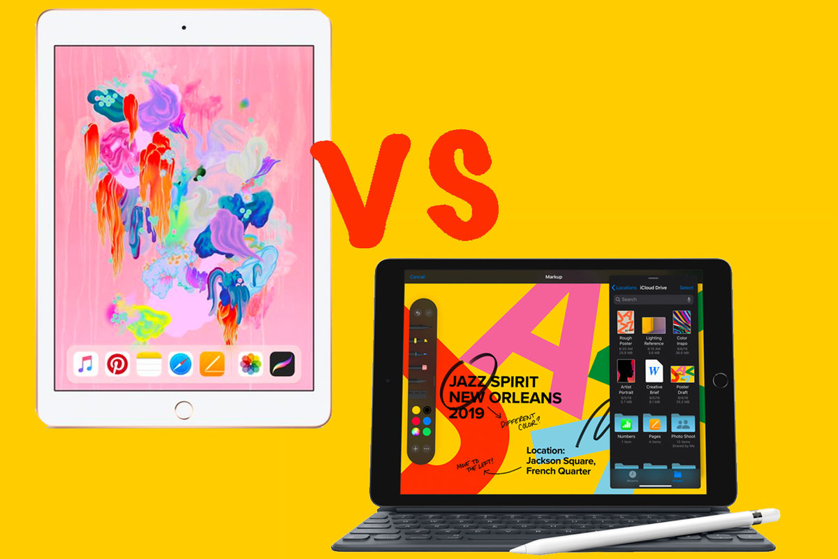 / Vs Ipad 2019 Vs Ipad 2018 What S Changed In The New Entry Lev