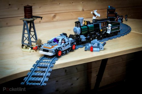 LEGO BTTF and Lone Ranger kitbash