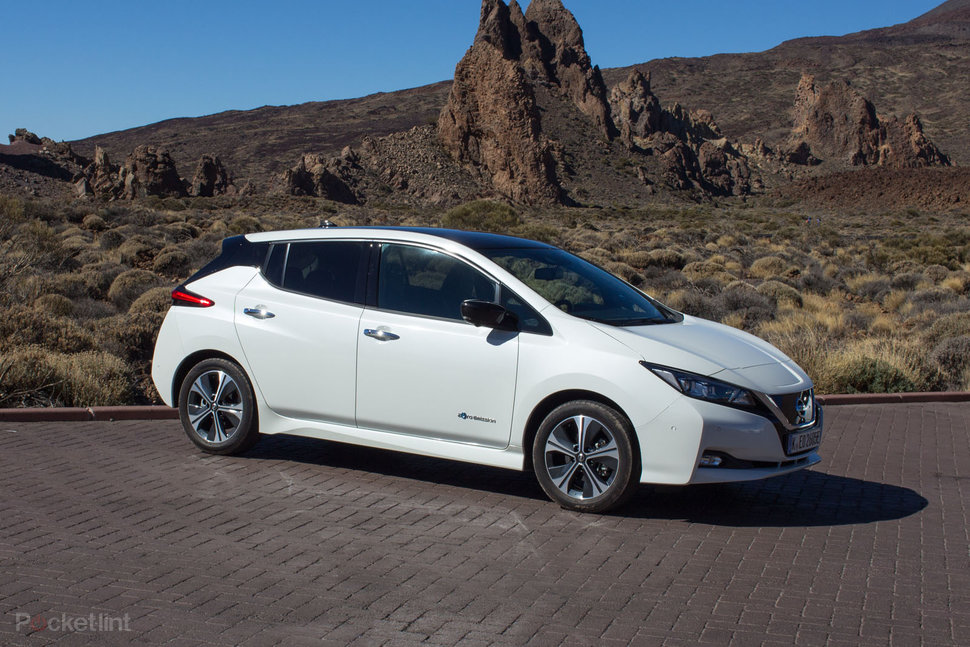 new nissan leaf gets larger battery with 200hp capacity