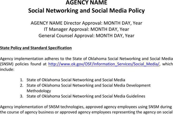 social media policy templates download free premium saveenlarge