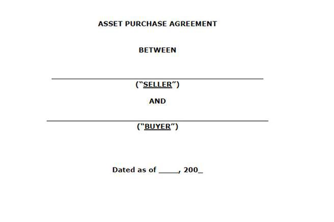 Asset Purchase Agreement Template Best Business TemplateAsset - asset purchase agreement