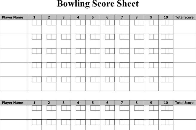 Bowling Score Sheet Peggy Aaron And I Were The Three Quad Squad