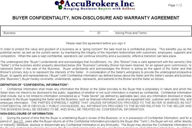 Agreement Template Download Free  Premium Templates, Forms - vendor confidentiality agreement
