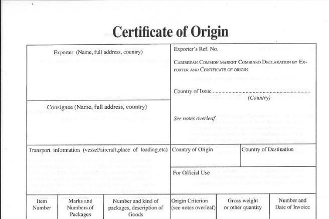 Certificate Template Download Free  Premium Templates, Forms - blank certificate of origin
