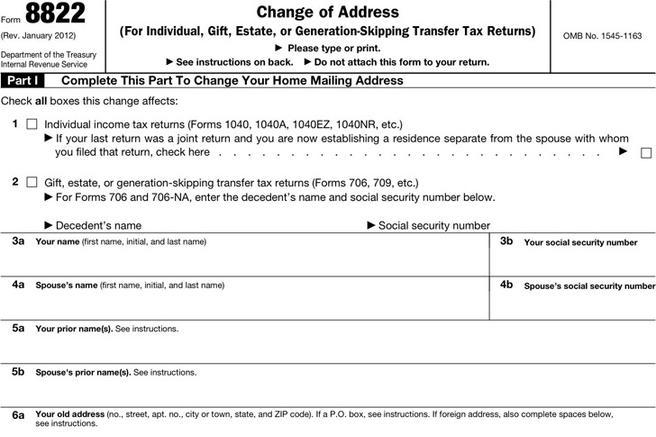print change of address form | resume-template.paasprovider.com