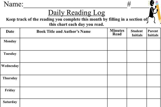 Reading Log Template. 11 free sample book log templates \\u2013 ...