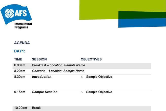 ... Agenda Template Download Free \ Premium Templates, Forms   Event Agenda  Sample ...