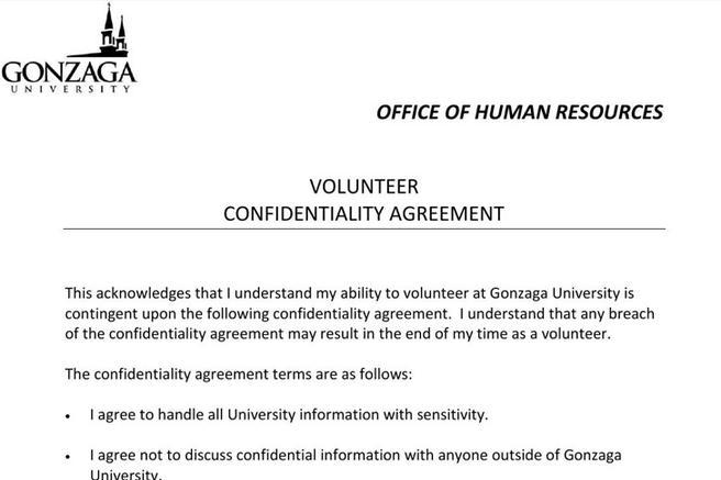 Human Resources Confidentiality Agreement Templates Download Free
