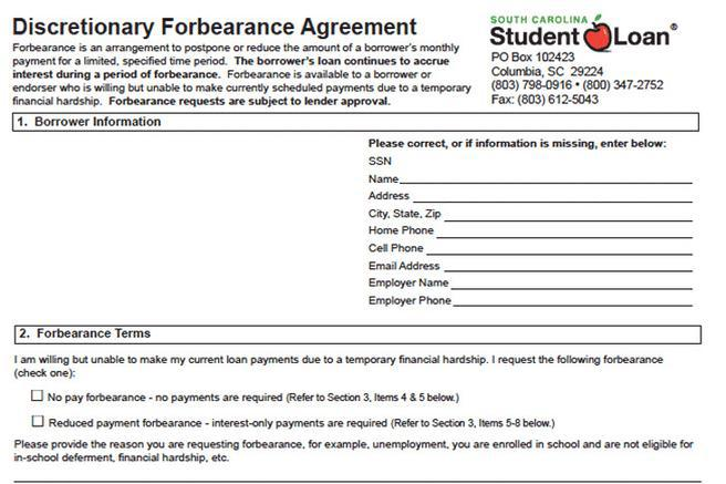 Forbearance Agreement Download Free  Premium Templates, Forms