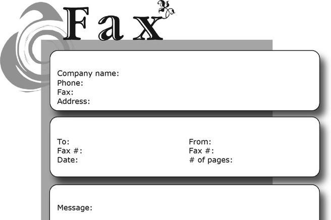 Fax Cover Sheet Download Free \ Premium Templates, Forms - cute fax cover sheet