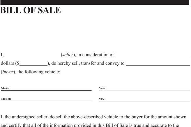 General Bill of Sale Form Download Free  Premium Templates, Forms - general bill of sale template