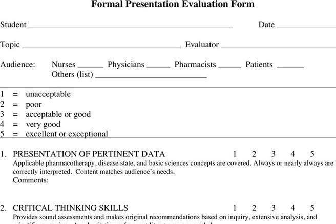 Panel Interview Evaluation Form | Installation Connections Manual