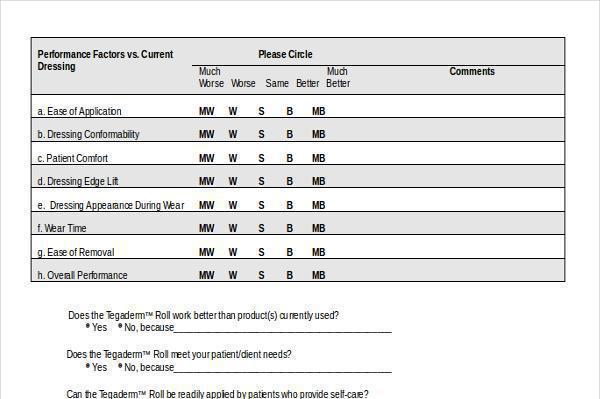 Doc#600650 Patient Survey Template u2013 13 Patient Survey Templates - patient satisfaction survey template
