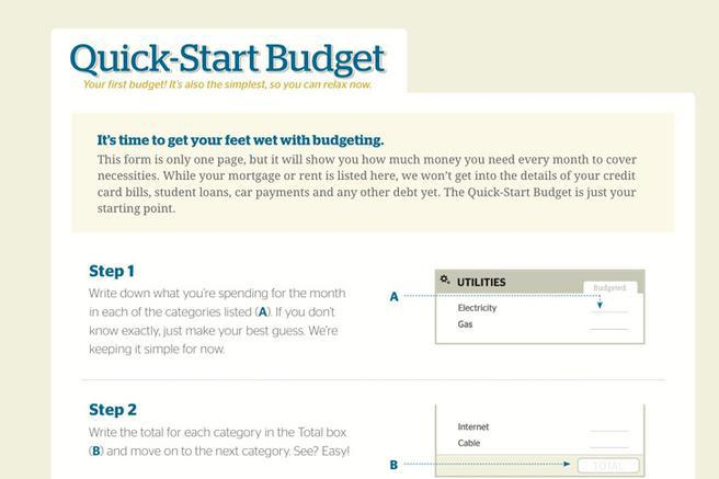 easy budget forms - Intoanysearch