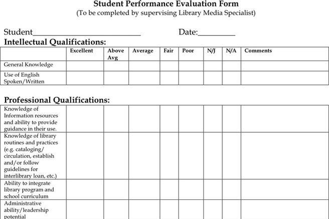 Sample Program Evaluation Form - Sample General Evaluation Template