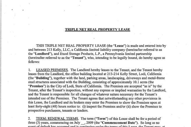 Rent and Lease Template Download Free  Premium Templates, Forms