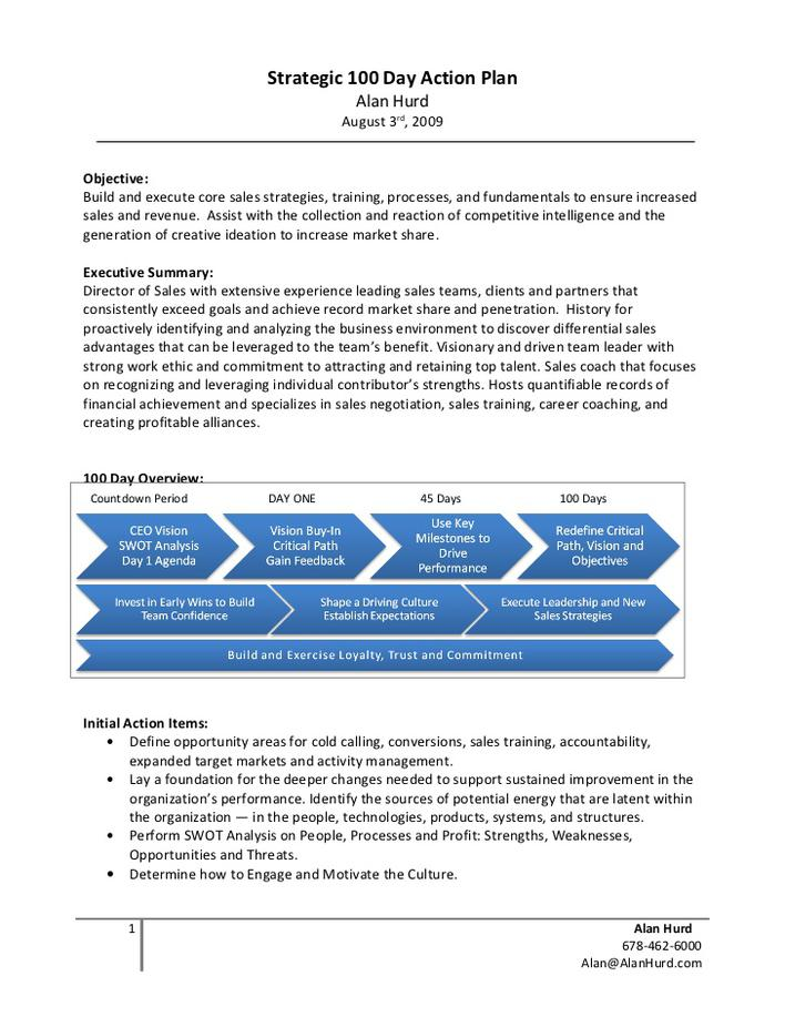 30 60 90 Day Action Plan Template PDF Document Download Free - 30 60 90 day action plan template