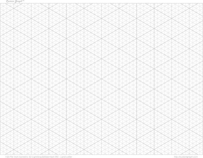 3D Graph Paper 1 Download Free  Premium Templates, Forms - 3d graph paper