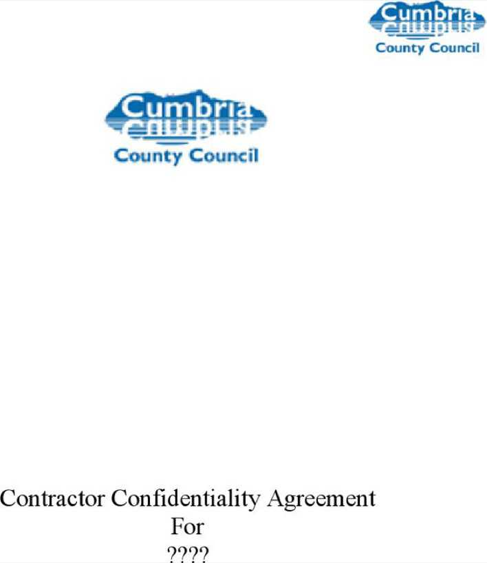 Contractor Confidentiality Agreements sample hr confidentiality - contractor confidentiality agreement