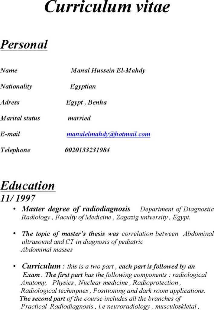 Consultant Radiologist Resume Download Free  Premium Templates - radiologist resume