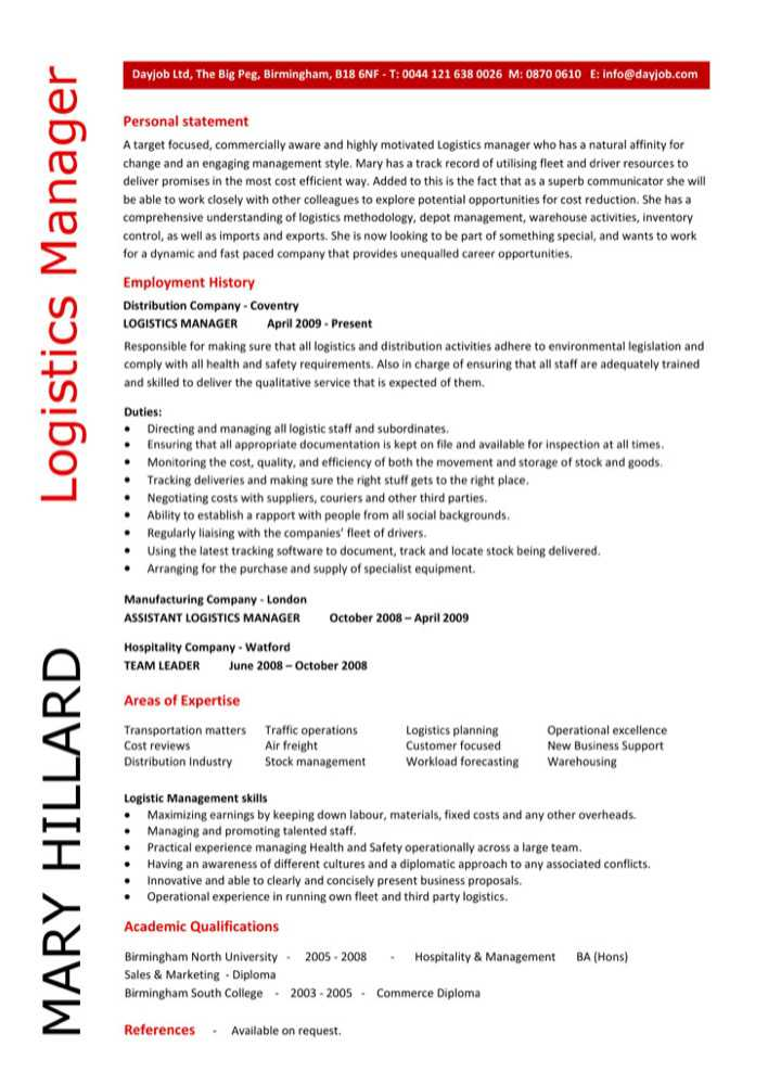 100 supply specialist resume cover letter examples for human logistics management specialist resume