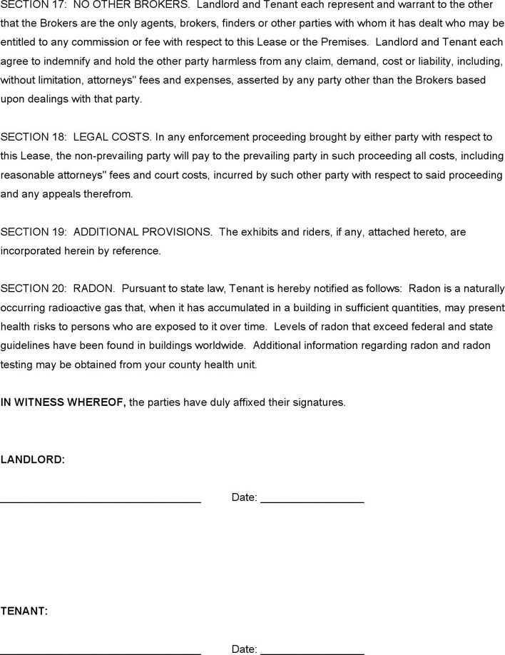 NNN Triple Net Lease Agreement Online Rental Property - oukasinfo - triple net lease form