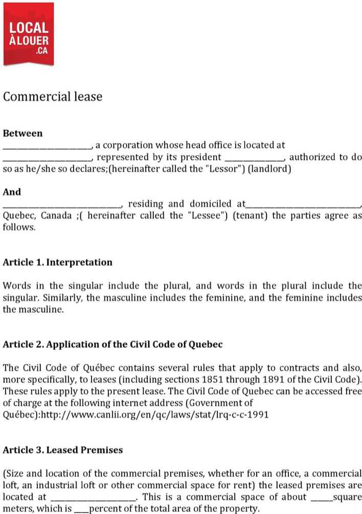 commercial lease application template - 28 images - commercial - lease application form