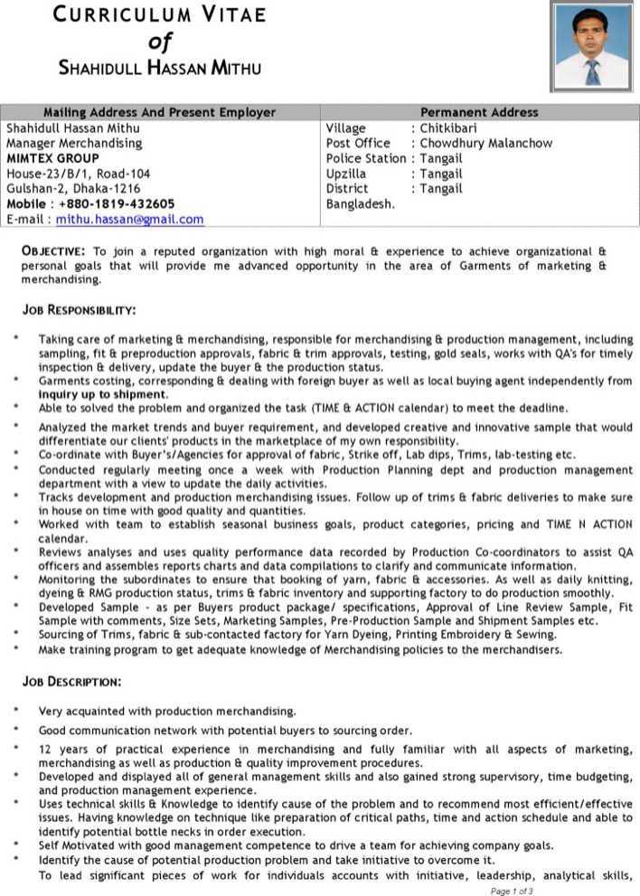 Merchandiser Resume Merchandiser Resume Example Sample Visual