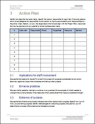 Weekly Sales Action Plan Format Template Excel Download Download