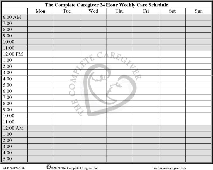 medicine schedule templates - Josemulinohouse