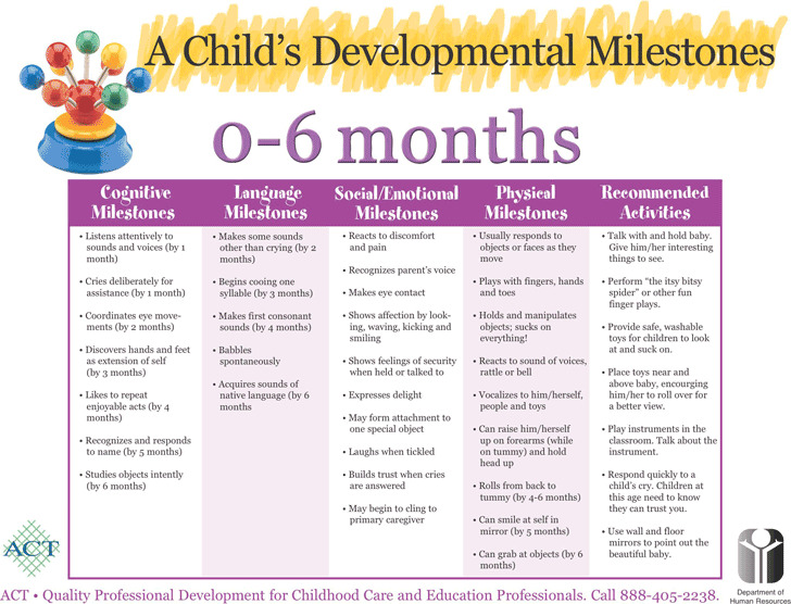 Baby Milestones Chart Download Free  Premium Templates, Forms
