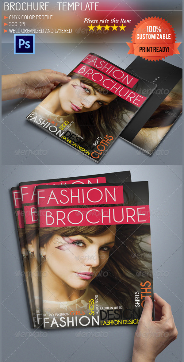 46+ Fashion Brochure Template Free Download
