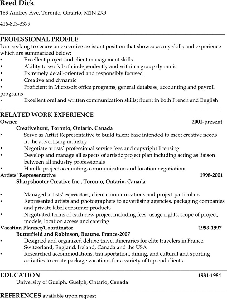 Administrative Assistant Resume Sample Download Free \ Premium - admin assistant resume